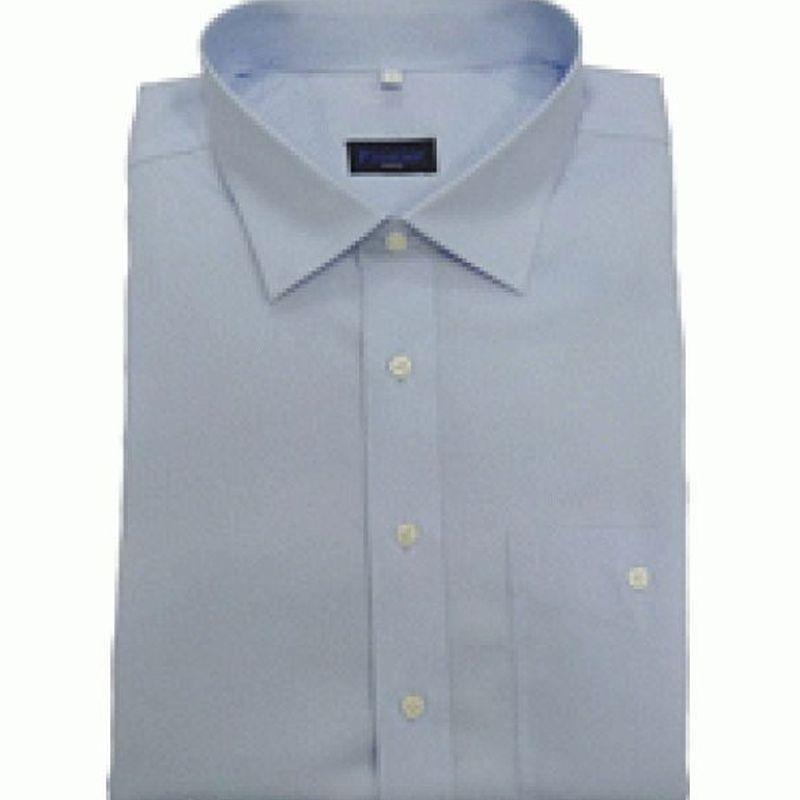 PIONIER-Workwear-Herren-Arbeits-Berufs-Hemd, 1/2-Arm, BW, hellblau