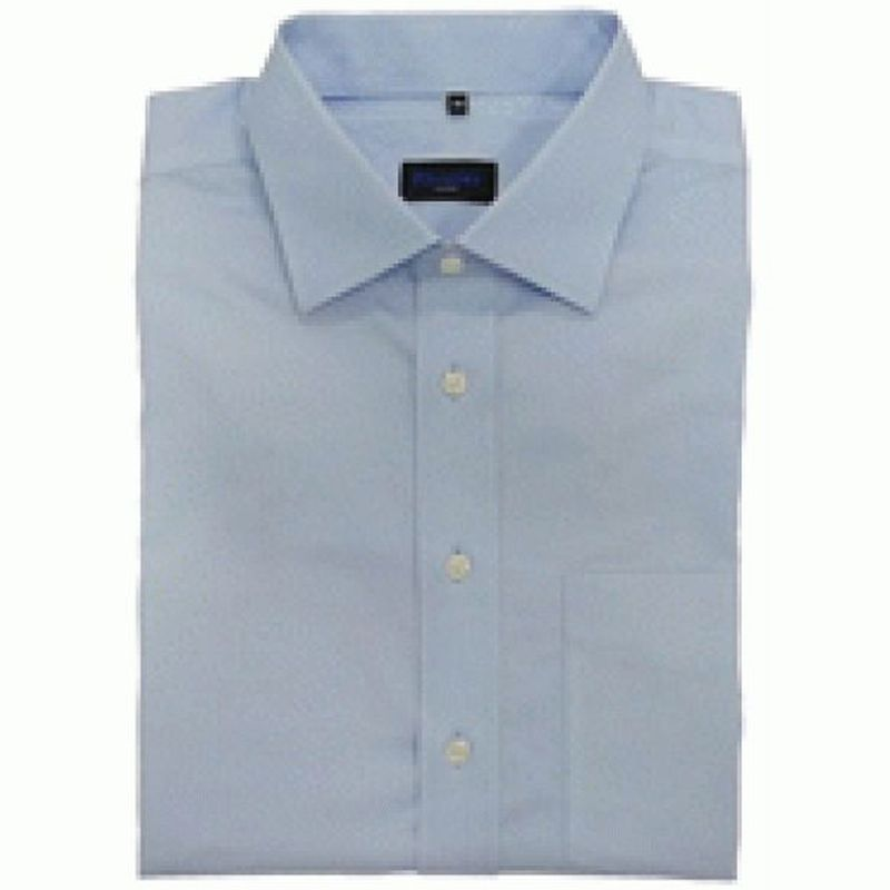 PIONIER-Workwear-Herren-Arbeits-Berufs-Hemd, 1/1-Arm, BW, hellblau