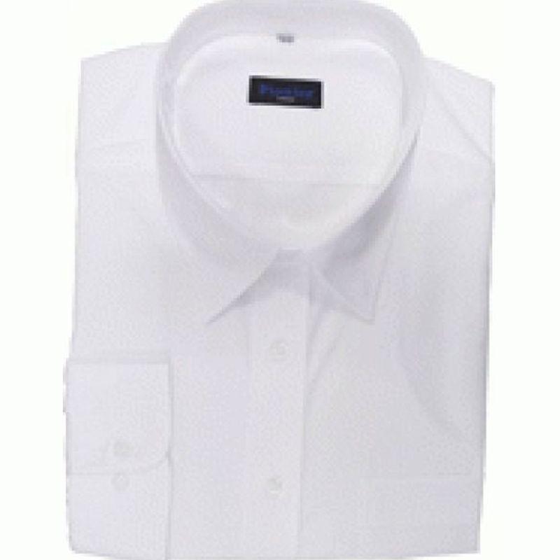 PIONIER-Workwear-Herren-Business-Arbeits-Berufs-Hemd, Kent-Kragen, 1/1-Arm, BW, weiß