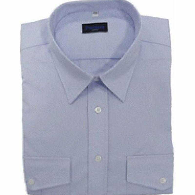 PIONIER-Business-Pilot-Arbeits-Berufs-Hemd, 1/1-Arm, BW, bleu