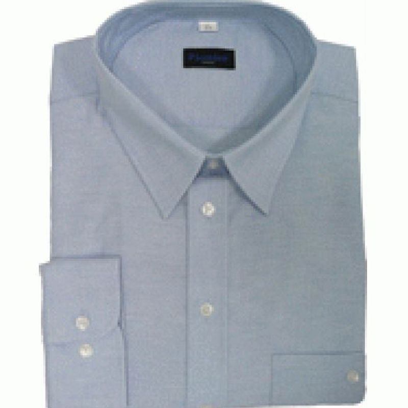PIONIER-Workwear-Herren-Business-Arbeits-Berufs-Hemd, Kent-Kragen, 1/1 Arm, BUSINESS, hellblau