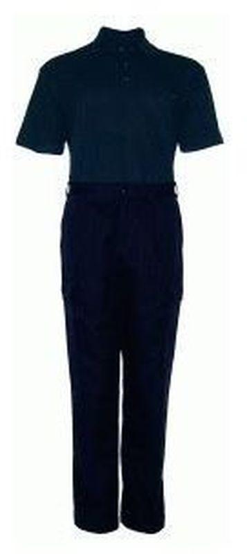 PIONIER-Workwear-Cargo-Bundhose, Arbeits-Berufs-Shorts, ca. 300g/m², marine