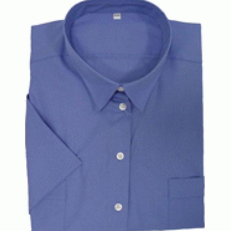 PIONIER-Workwear-Damen-Arbeits-Berufs-Bluse, 1/2-Arm, BUSTNESS, königsblau