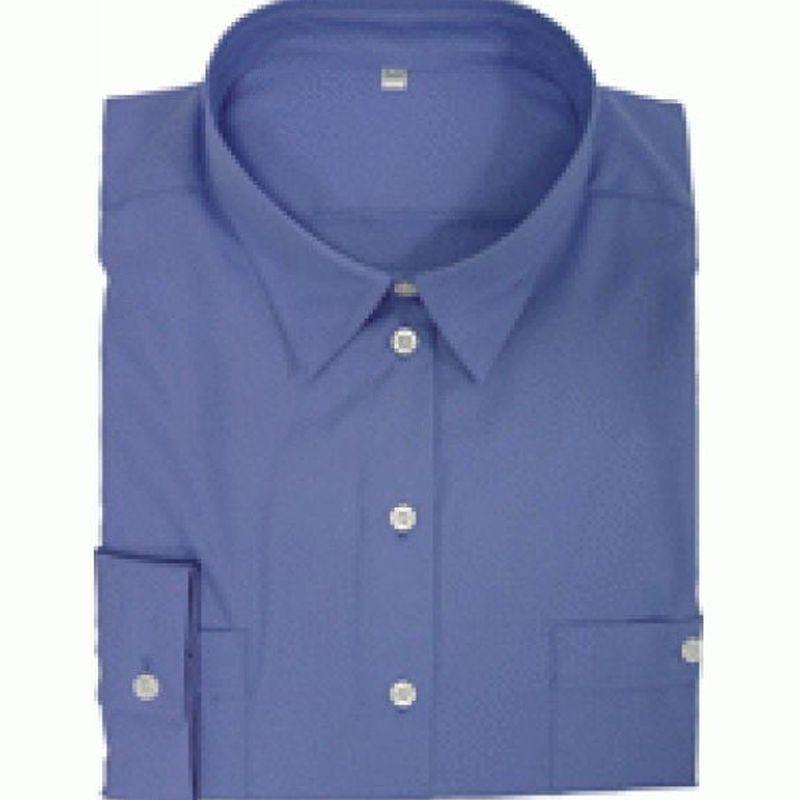 PIONIER-Workwear-Damen-Arbeits-Berufs-Bluse, 1/1-Arm, BUSINESS, königsblau