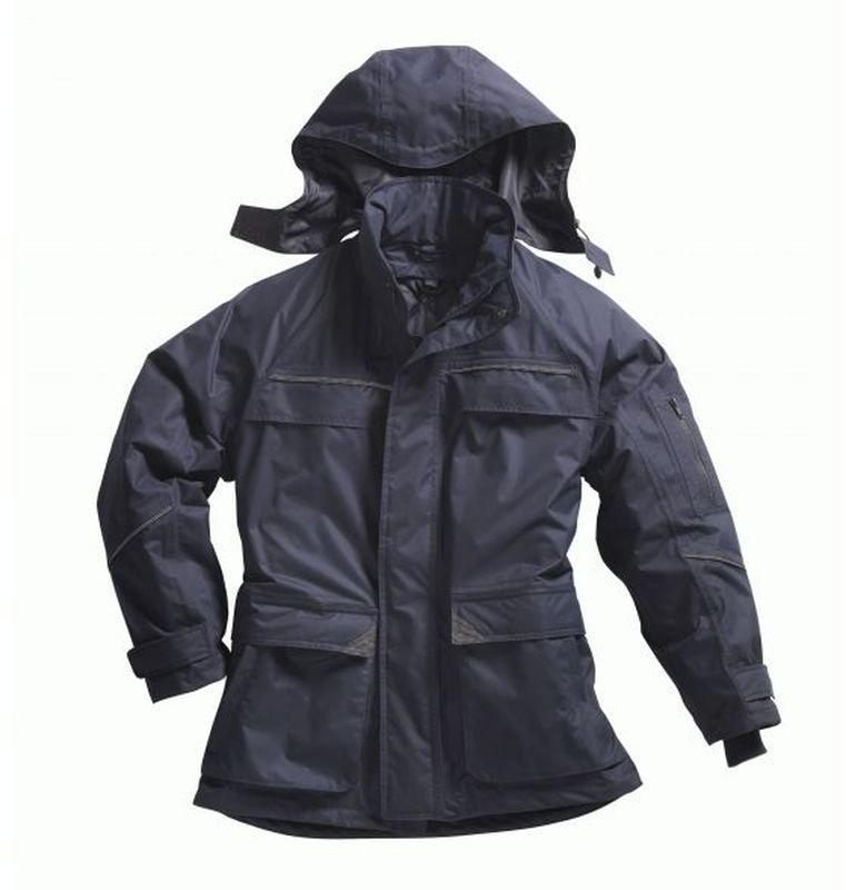 PIONIER Regen-Nässe-Wetter-Schutz-Jacke, Wetterblouson, marine