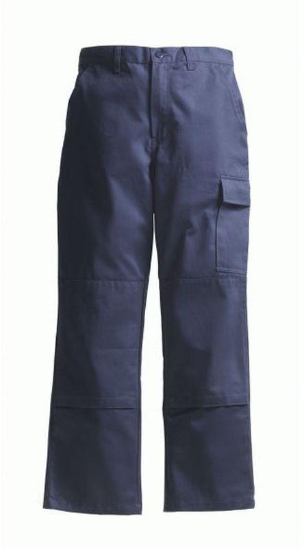 PIONIER-Workwear-Arbeits-Berufs-Bund-Hose, Cotton Pure, BW280, marine