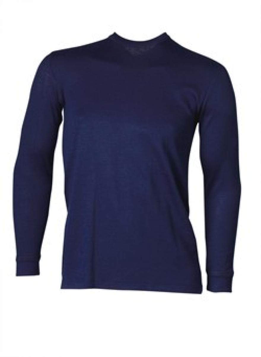 ELKA Thermo-Unterhemd, Langarm, marine
