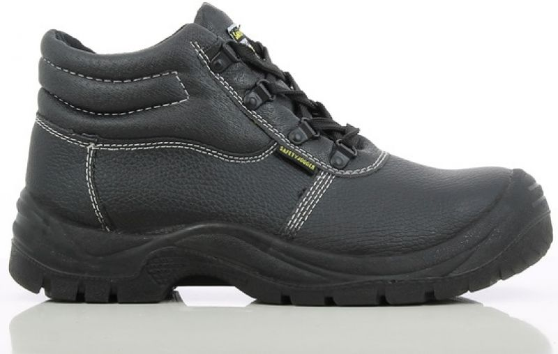 buy online 43108 b0d52 SAFETY JOGGER-S1P-Arbeits-Berufs-Sicherheits-Schuhe, Schnürschuhe, hoch,  Safetyboy, schwarz