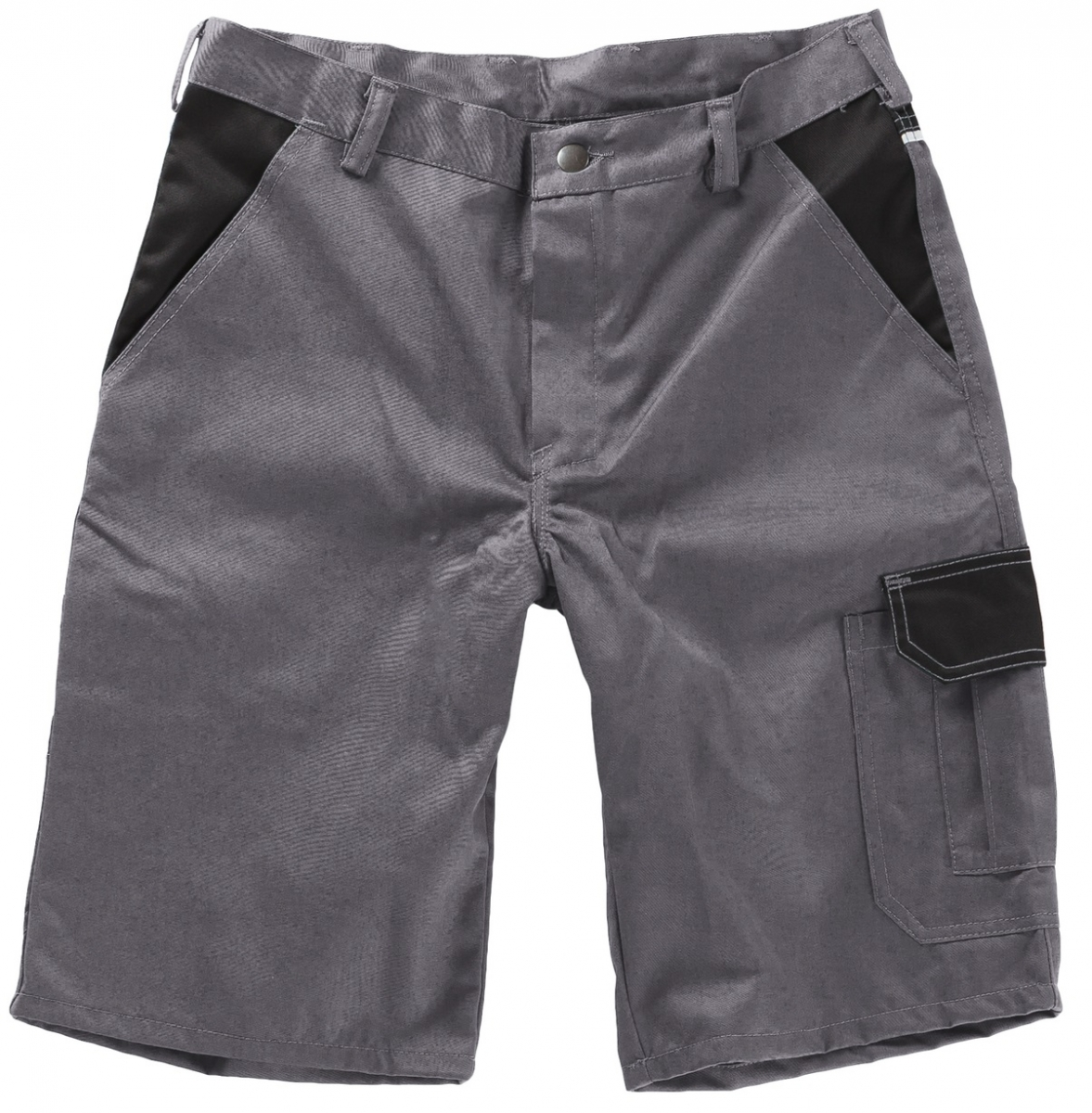 BEB-Arbeits-Berufs-Shorts, 245 g/m², grau/schwarz