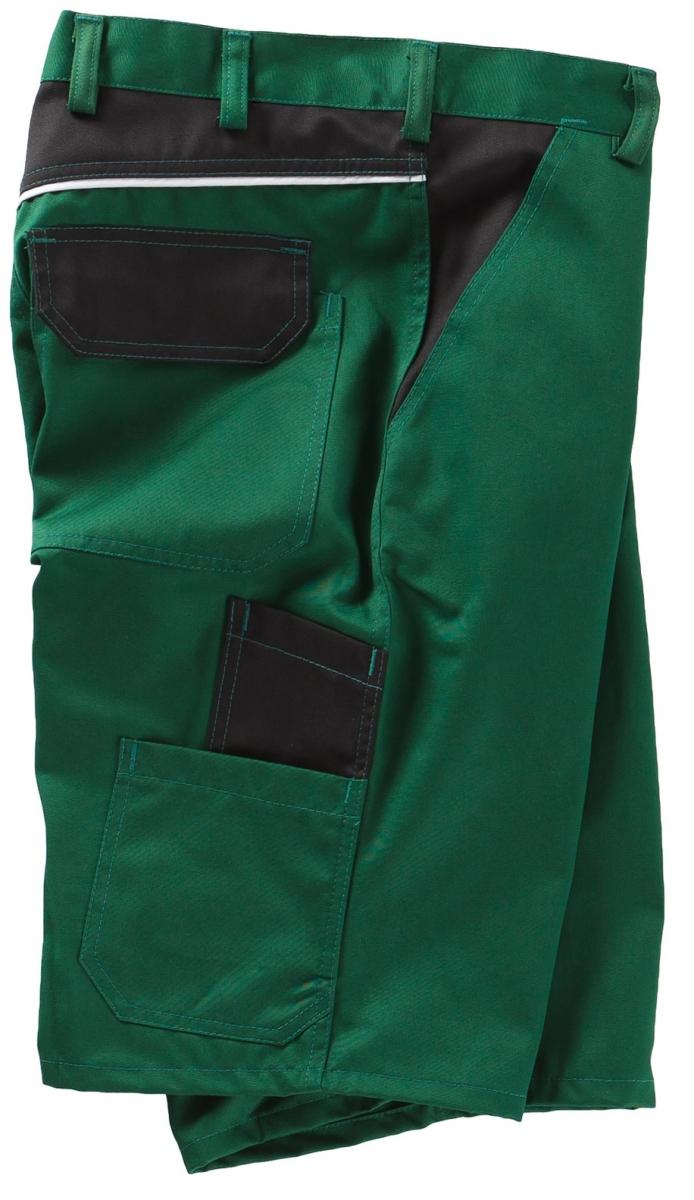 BEB-Arbeits-Berufs-Shorts, 245 g/m², grün/schwarz