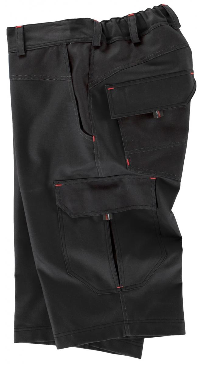 BEB-Arbeits-Berufs-Shorts, Premium, 300 g/m², schwarz