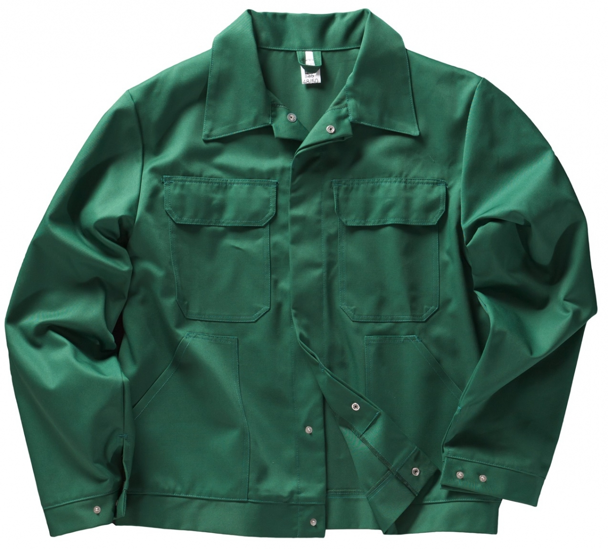 BEB-Arbeits-Berufs-Bund-Jacke, Basic, MG 245, grün