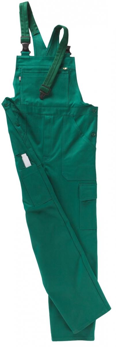 BEB-Arbeits-Berufs-Latz-Hose, BW 320, grün