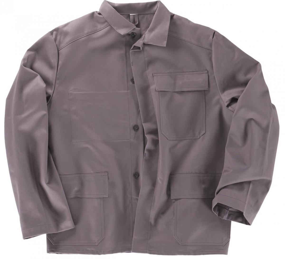 BEB-PSA-Schweißer-Arbeits-Schutz-Berufs-Jacke, BW 460, grau