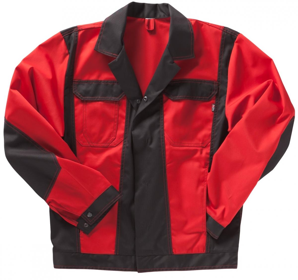 BEB-Bundjacke, Arbeits-Berufs-Jacke, Premium, MG 245, rot/schwarz