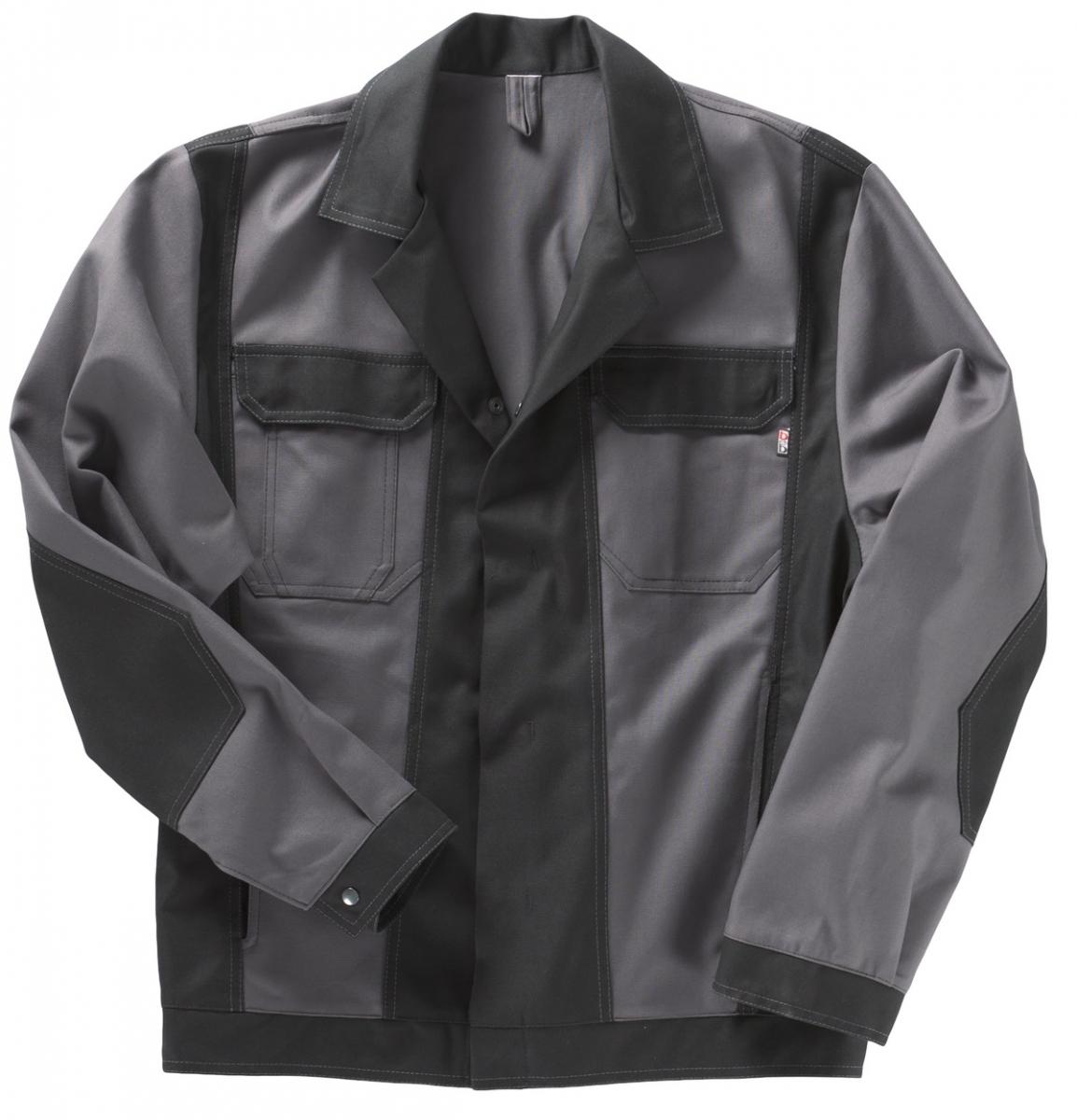 BEB-Bundjacke, Arbeits-Berufs-Jacke, Premium, MG 325, grau/schwarz