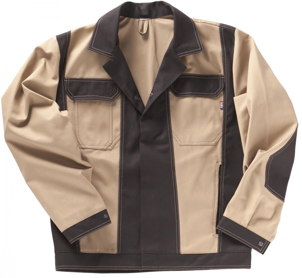 BEB-Bundjacke, Arbeits-Berufs-Jacke, Premium, MG 300, sand/schwarz