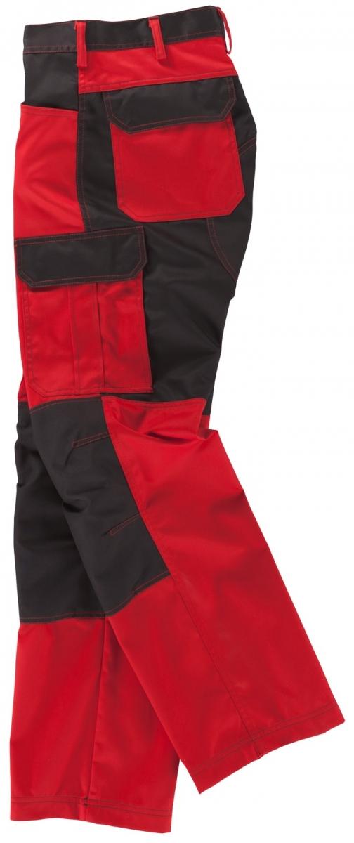 BEB-Arbeits-Berufs-Bund-Hose, Premium, MG 245, rot/schwarz
