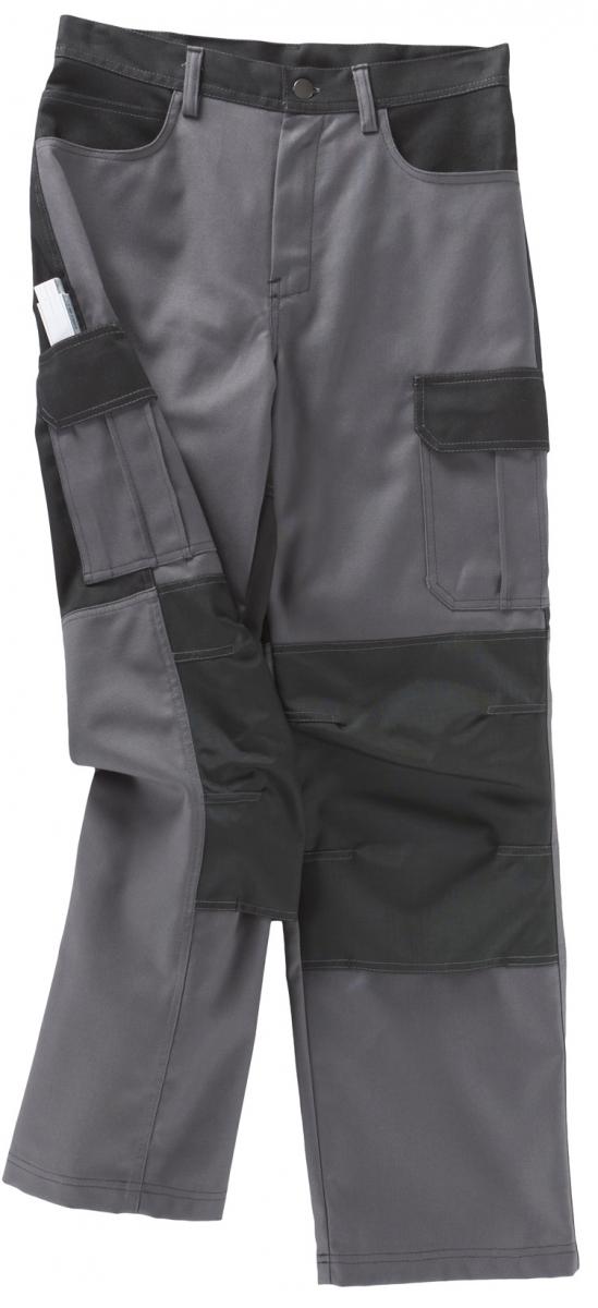 BEB-Arbeits-Berufs-Bund-Hose, Premium, MG 300, grau/schwarz