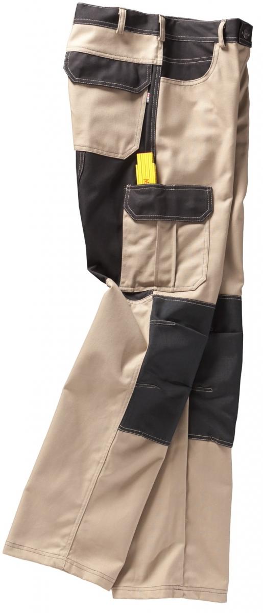 BEB-Arbeits-Berufs-Bund-Hose, Premium, MG 300, sand/schwarz