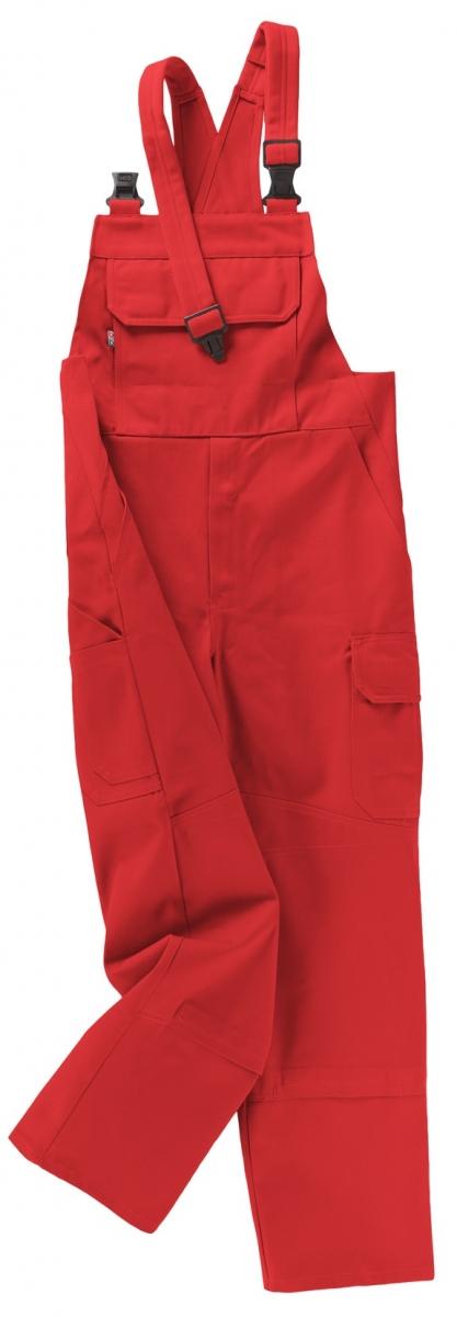 BEB-Arbeits-Berufs-Latz-Hose, Basic, MG 245, rot