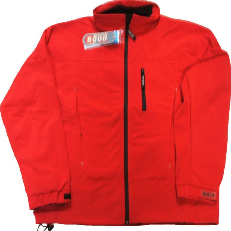 OCEAN-Soft-Shell Herrenjacke, rot