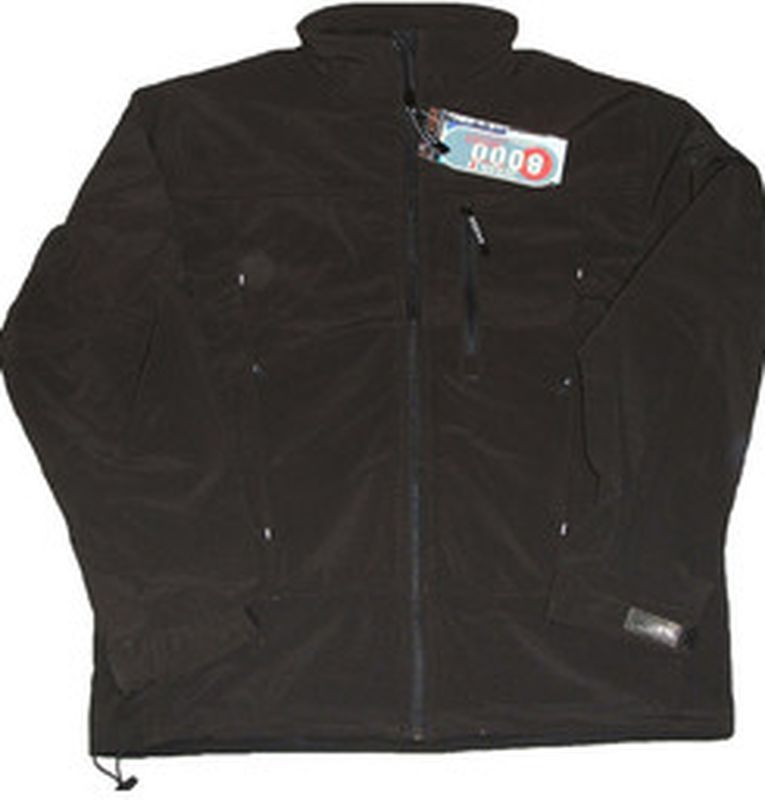 OCEAN-Softshell-Arbeits-Berufs-Jacke, Herrenjacke, schwarz