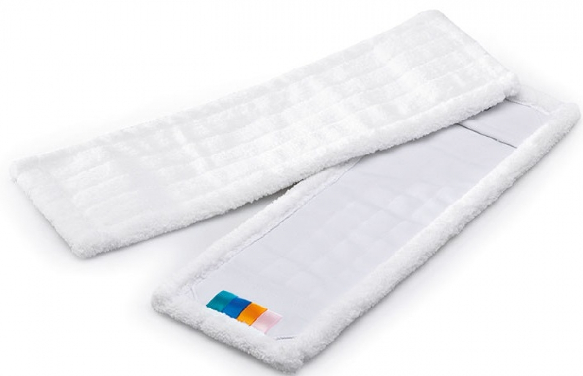 MEGA CLEAN-Wisch-Mopps-Pads, Mikrofaser-Mop MEGA MC, 50 cm, weiß