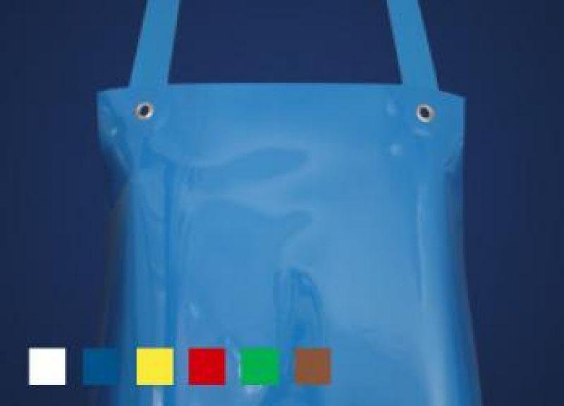 SCHLACHTHAUSFREUND-Ledolin L-Schürze, PU-Gummi-Schürze 1359, blau