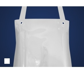 SCHLACHTHAUSFREUND-Ledolin M-Schürze, PU-Gummi-Schürze 1366, weiß