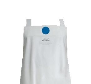 SCHLACHTHAUSFREUND-Ledolin Antibac-Schürze, PU-Gummi-Schürze 1603, weiß