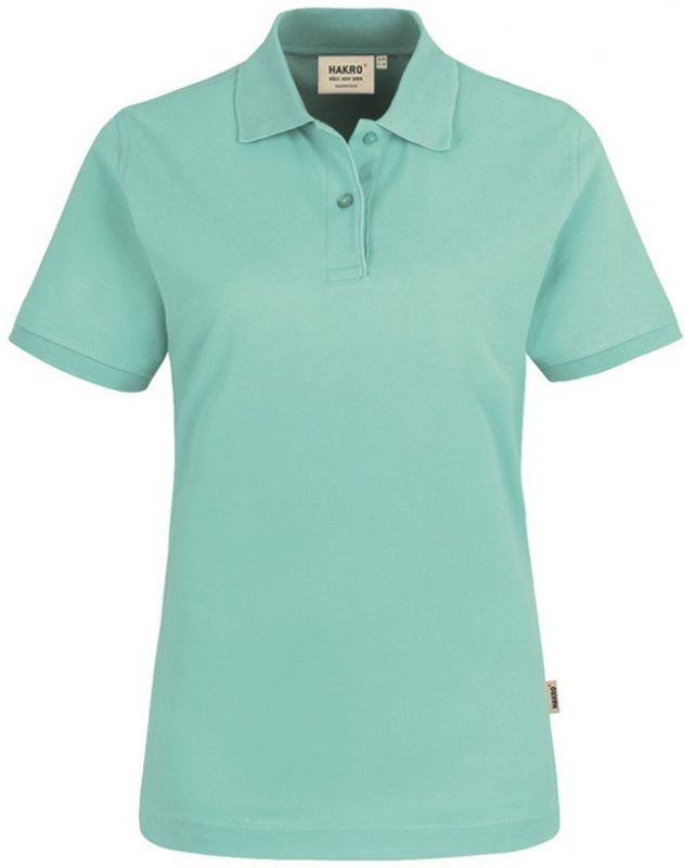 85eeacdfe262d8 HAKRO-Damen-Poloshirt, Women-Arbeits-Berufs-Polo-Shirt, Top, ice-green