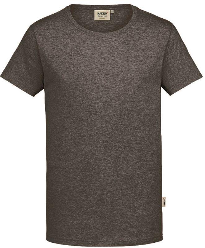 hakro t shirt gots organic 160 g m anthrazit meliert. Black Bedroom Furniture Sets. Home Design Ideas