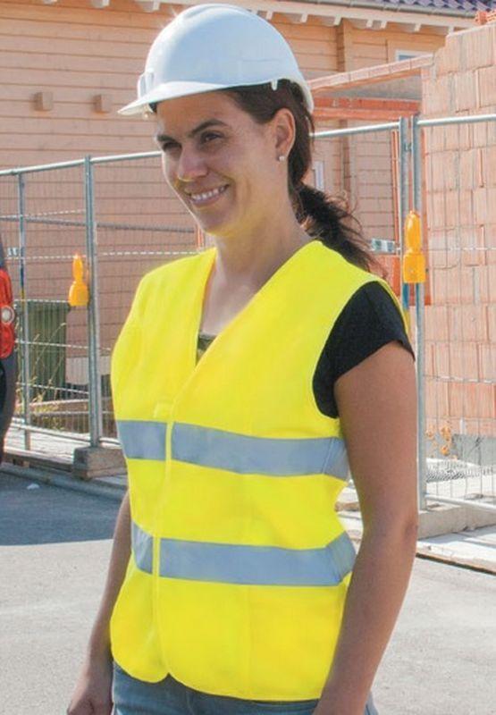 KORNTEX-Damen-Warn-Schutz-Weste, gelb