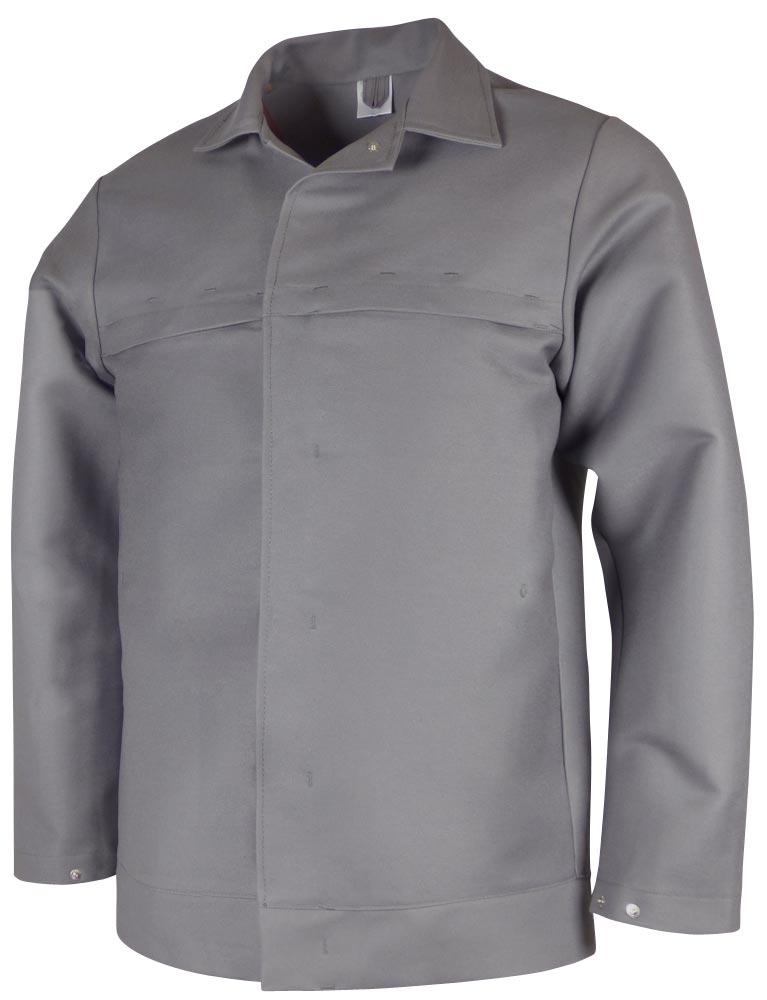 Teamdress-PSA, Schweißer/Hitzeschutz Jacke, Kl. 2, grau