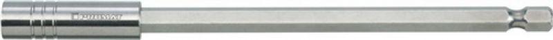 NORDWEST-PROMAT-Bits und Zubehör, Bithalter slim type 1/4 Zoll F 6,3 1/4 Zoll C 6,3 Magnet L.150mm