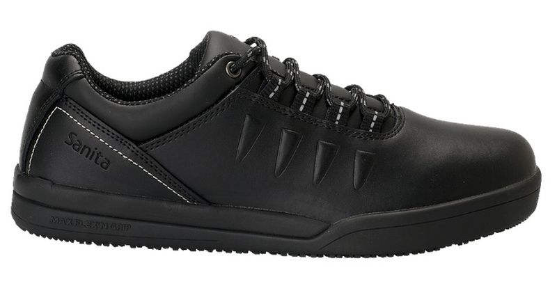 SANITA Arbeits Berufs Schuhe, Halbschuhe, San Chef, O2, schwarz