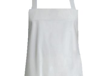 SCHLACHTHAUSFREUND-Ledolin Antibac-Schürze, PU-Gummi-Schürze 1607, weiß