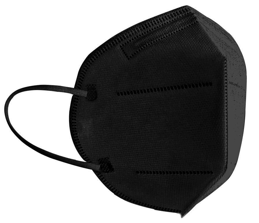 FFP2 Atemschutzmaske Komfort2, 6er, Made in Germany, schwarz