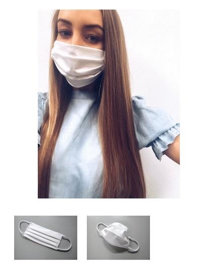 MULTI-BALANCE-Mehrweg-Baumwoll-Schutzmaske, weiß