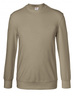 KÜBLER-Workwear-Sweatshirt, 300 g/m², sandbraun