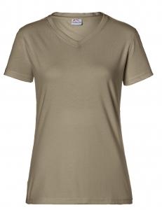 KÜBLER-Workwear-Damen-T-Shirts, 160 g/m², sandbraun