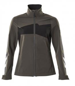 MASCOT-Damen-Softshell-Arbeitsjacke, ACCELERATE, 260 g/m², dunkelanthrazit/schwarz