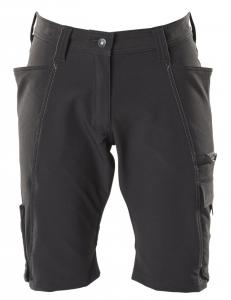 MASCOT-Damen-Shorts, ACCELERATE, 260 g/m², schwarz