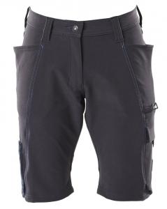 MASCOT-Damen-Shorts, ACCELERATE, 260 g/m², schwarzblau