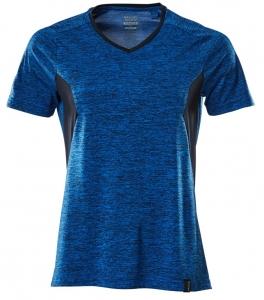 MASCOT-Damen-T-Shirt, ACCELERATE, 150 g/m², azurblau/schwarzblau