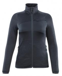 MASCOT-Damen Fleecepullover mit Reißverschluss, ACCELERATE, 260 g/m², schwarzblau