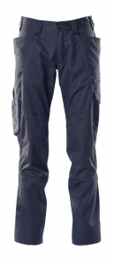 MASCOT-Damen-Arbeitshose, ACCELERATE, 76 cm, 205 g/m², schwarzblau