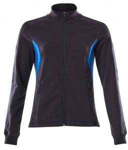 MASCOT-Damen-Sweatshirt mit Reißverschluss, ACCELERATE, 310 g/m², schwarzblau