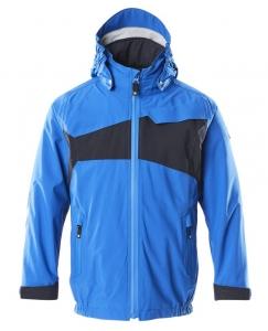 MASCOT-Kinder Hard Shell Jacke,  ACCELERATE, 115 g/m², azurblau/schwarzblau